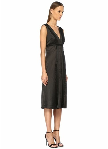 Foxiedox Elbise Siyah